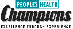Peoples Health Champions logo