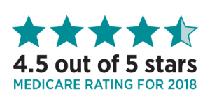 Peoples Health Medicare Advantage Plan 4.5 Star Ratings for 2018