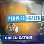peoples health green eating TV feature