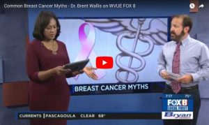 dr wallis speaks on breast cancer on fox 8 new orleans morning show