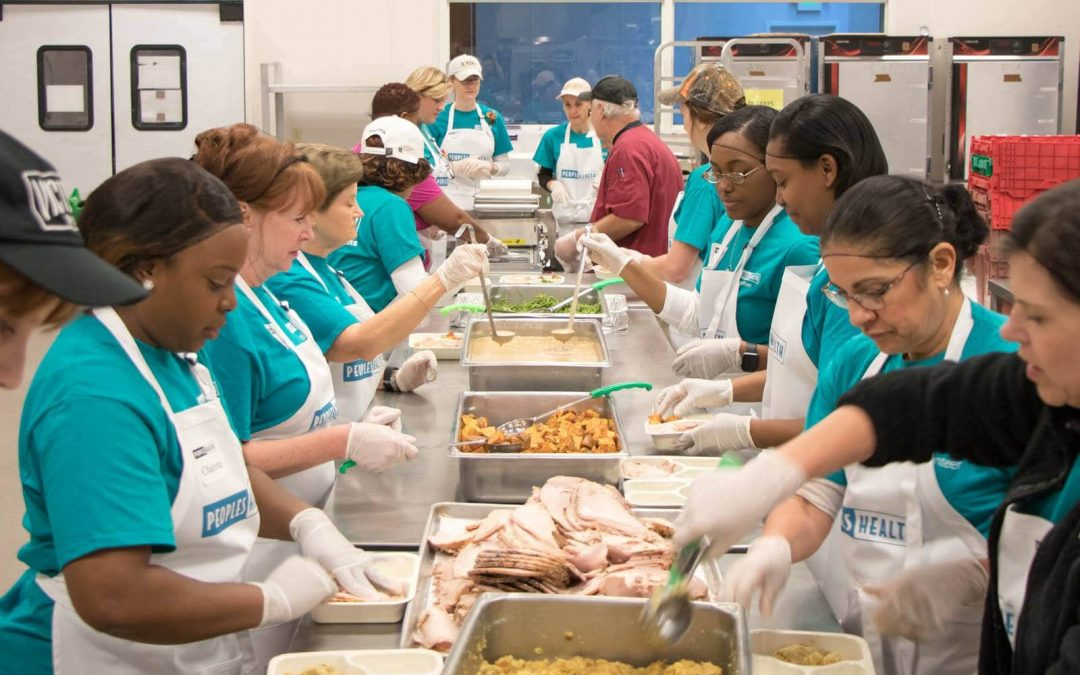 Local Seniors Celebrate Thanksgiving