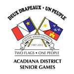 Acadiana District Senior Olympic Games logo