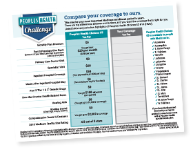 Peoples Health Challenge Worksheet for Choices #65