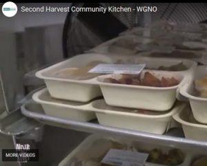 Second Harvest meals prepared by Peoples Health volunteers.