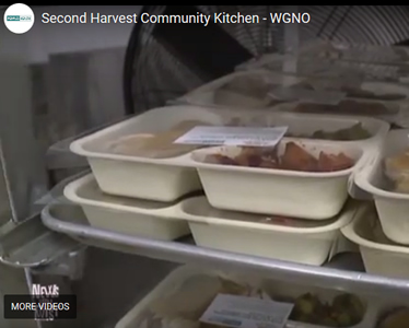 Peoples Health and Second Harvest Food Bank Volunteers Prepare Thanksgiving Meals