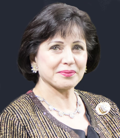 Peoples Health Honors Champion  Gayle Benson  at Saints Home Game