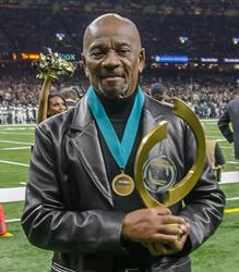 Peoples Health Honors Champion Dr. Johnnie W. Jones Jr. at Saints Home Game
