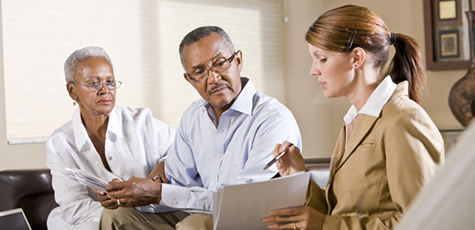 patient consulting with physician