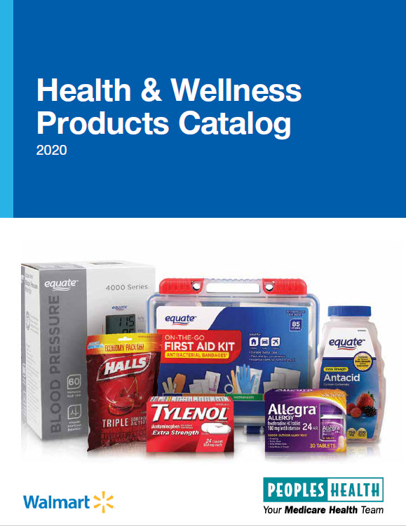 Otc Card Items List 2020.Peoples Health Over The Counter Health Wellness Benefit 2020