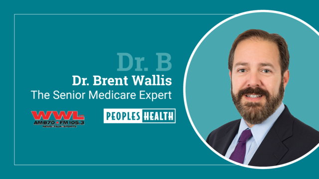 Healthy Aging – Dr. Brent Wallis on WWL Radio