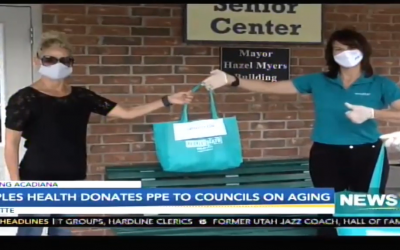 Peoples Health Donation to Councils on Aging
