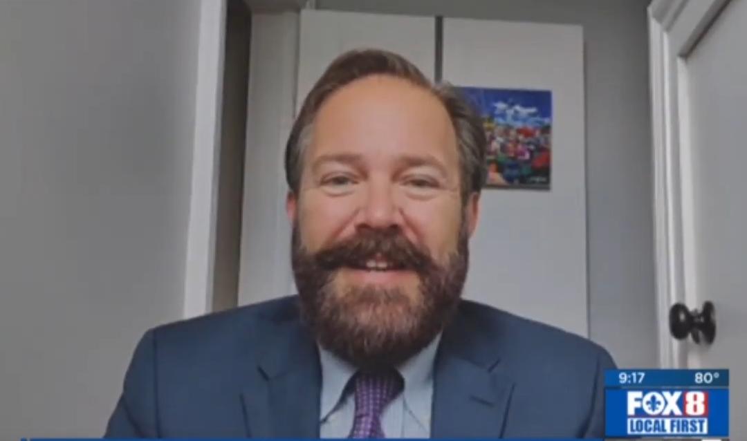 Avoiding Medicare Scams – Dr. Brent Wallis on WVUE FOX 8 News