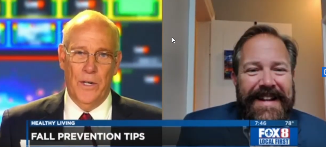 Fall Prevention – Dr. Brent Wallis on WVUE FOX 8 News