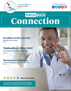 Image of the cover of the Fall/Winter 2018 Connection