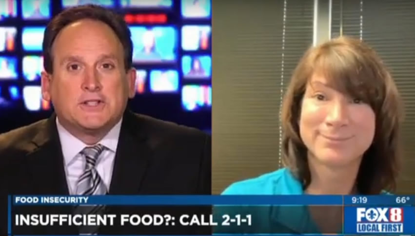 Food Insecurity – Leslie Keen on WVUE FOX 8 News