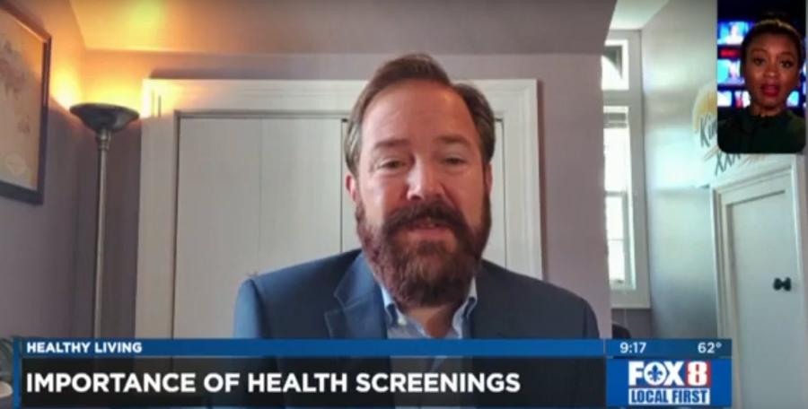 Importance of Health Screenings – Dr. Brent Wallis on WVUE FOX 8 News