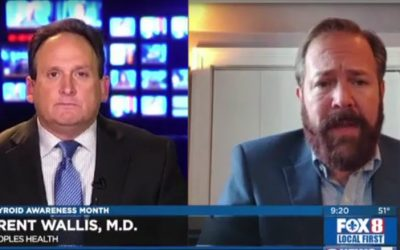 Thyroid Awareness Month – Dr. Brent Wallis on WVUE FOX 8 News
