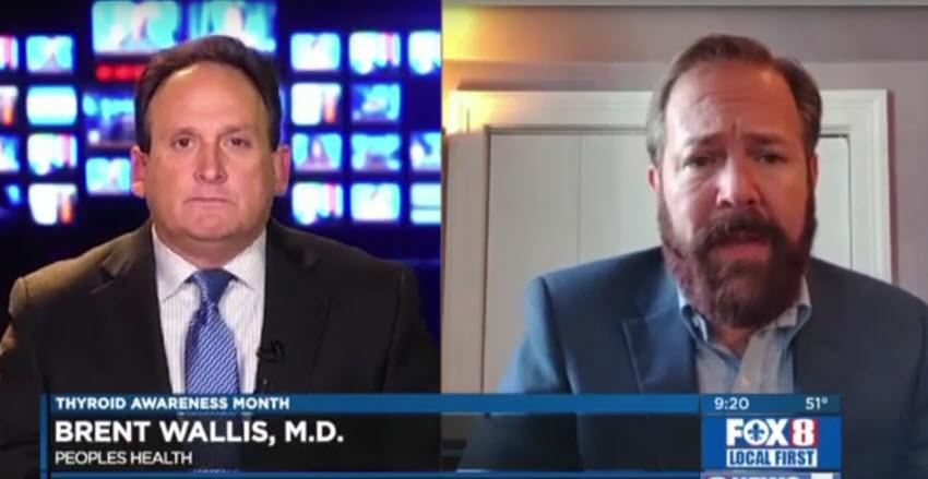 Thyroid Awareness Month – Dr. Brent Wallis on WVUE FOX 8 News