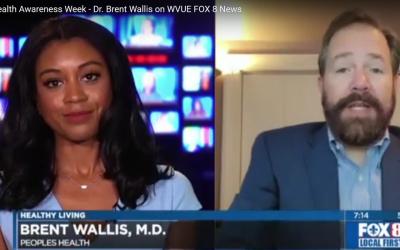 Brain Health Awareness Week – Dr. Brent Wallis on WVUE FOX 8 News