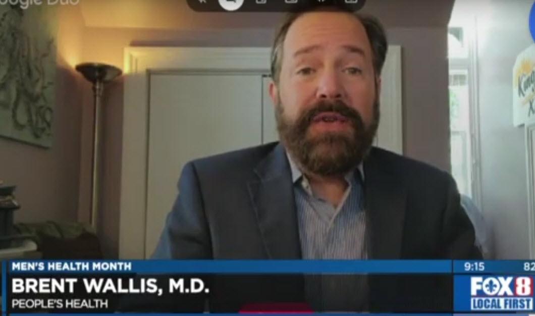 Men's Health Month – Dr. Brent Wallis on WVUE FOX 8 News
