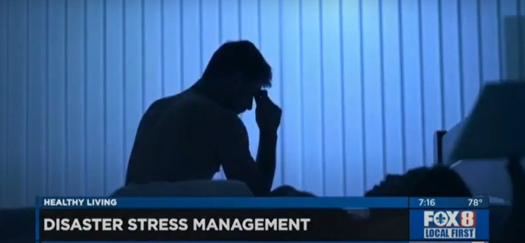Coping with Stress After a Disaster – Dr. Brent Wallis on WVUE FOX 8 News