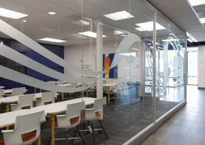 Interior photo of the Peoples Health Medicare Center meeting room
