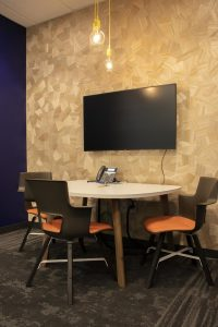 Interior photo of the Peoples Health Medicare Center consultation room